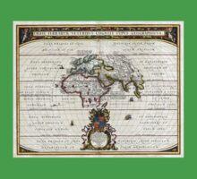 World Map - Geographicus Orbis Terrarum - 1650 Kids Clothes