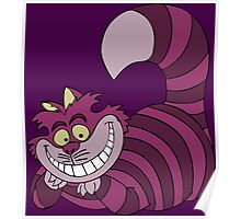 Smiling Cheshire Cat Poster