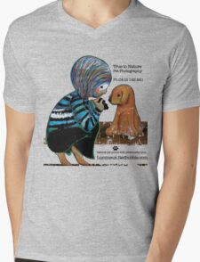 Smile Baby Pet Portrait Photographer CUSTOMISED Mens V-Neck T-Shirt