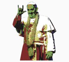 Rock Pop Pope Superstar Kids Tee