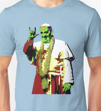 Rock Pop Pope Superstar Unisex T-Shirt