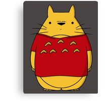 Toto Pooh Canvas Print