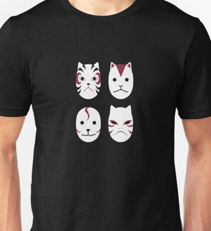 ANBU Masks (Without Text) Unisex T-Shirt