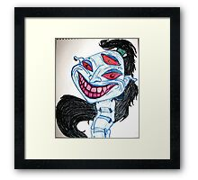 Dreaming of That Face Again Framed Print