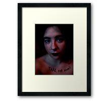 Take Me Away.. Framed Print
