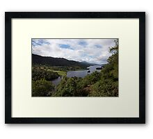 Loch Ness from The Queen's Lookout Framed Print