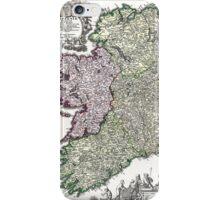 Ireland - Geographicus Ireland - Homann - 1716 iPhone Case/Skin