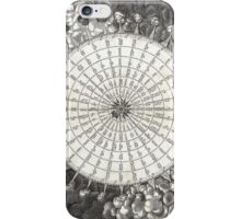 Wind Rose-Geographicus Anemographica-1650 iPhone Case/Skin