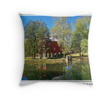 York Grist Mill Throw Pillow