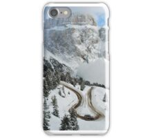 Wintry curve iPhone Case/Skin