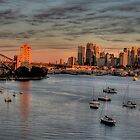 Berry&#x27;s Bay Dawn - Berry&#x27;s Bay Sydney Sydney Harbour - The HDR Experience by Philip Johnson
