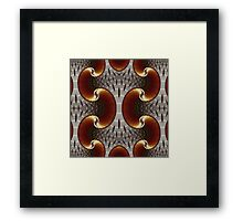 Geometric Patterns No. 34 Framed Print