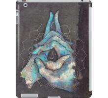 crown chakra mudra  iPad Case/Skin