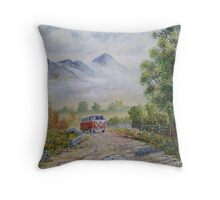 Road to Croagh Patrick. Throw Pillow