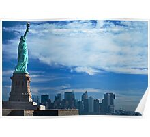 From Lady Liberty to Manhattan Poster