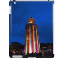 Glastonbury Ribbon Tower by night iPad Case/Skin