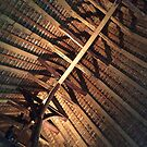Alfriston Clergy House, Timber Beams by John Dalkin