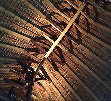 Alfriston Clergy House, Timber Beams by John Dalkin