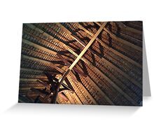 Alfriston Clergy House, Timber Beams Greeting Card