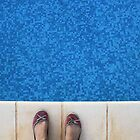 Saturation - Swimming Pool and Shoes by Katie Batchelor