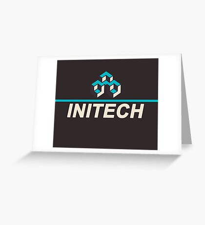Initech Corporation Greeting Card