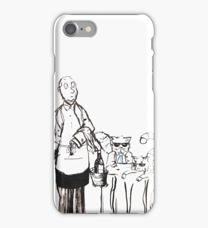 Serving the Cats iPhone Case/Skin