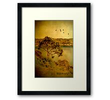 Let's go flying ... Framed Print