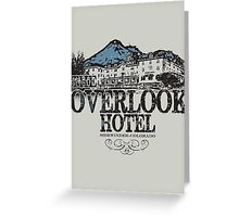 The OverLook Hotel Greeting Card
