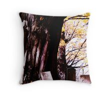 Restful Tree Throw Pillow