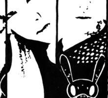 BAP Black & White Sticker