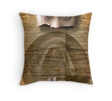 the Land Lord Throw Pillow