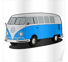 VW type 2 T1 microbus Poster
