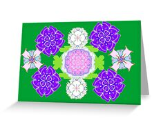 Digital Garden Greeting Card