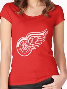 Red Wings Women's Fitted Scoop T-Shirt