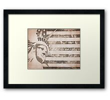 American Liberty Patriot Framed Print