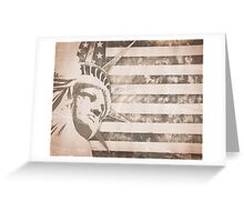 American Liberty Patriot Greeting Card