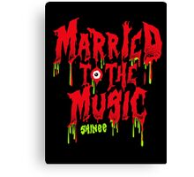 SHINEE Married to the Music Canvas Print
