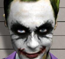 Sheldon Cooper Joker Sticker