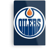 Oilers Metal Print