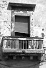 Balcony - Gallipoli, Italy by Debbie Pinard