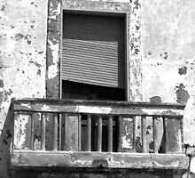 Balcony - Gallipoli, Italy by Debbie Pinard
