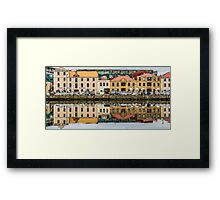 Hobart Reflections Framed Print