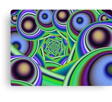 Swirling bubbles Canvas Print