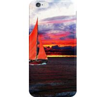 Red Sails In The Sunset iPhone Case/Skin