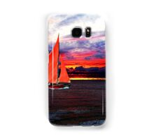 Red Sails In The Sunset Samsung Galaxy Case/Skin