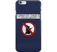 No magic allowed iPhone Case/Skin