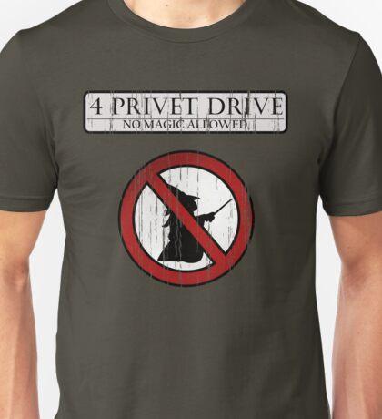 No magic allowed Unisex T-Shirt