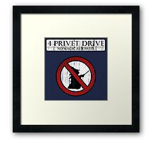 No magic allowed Framed Print
