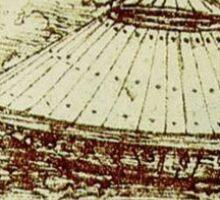 Da Vinci's tank Sticker