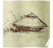 Da Vinci's tank Poster